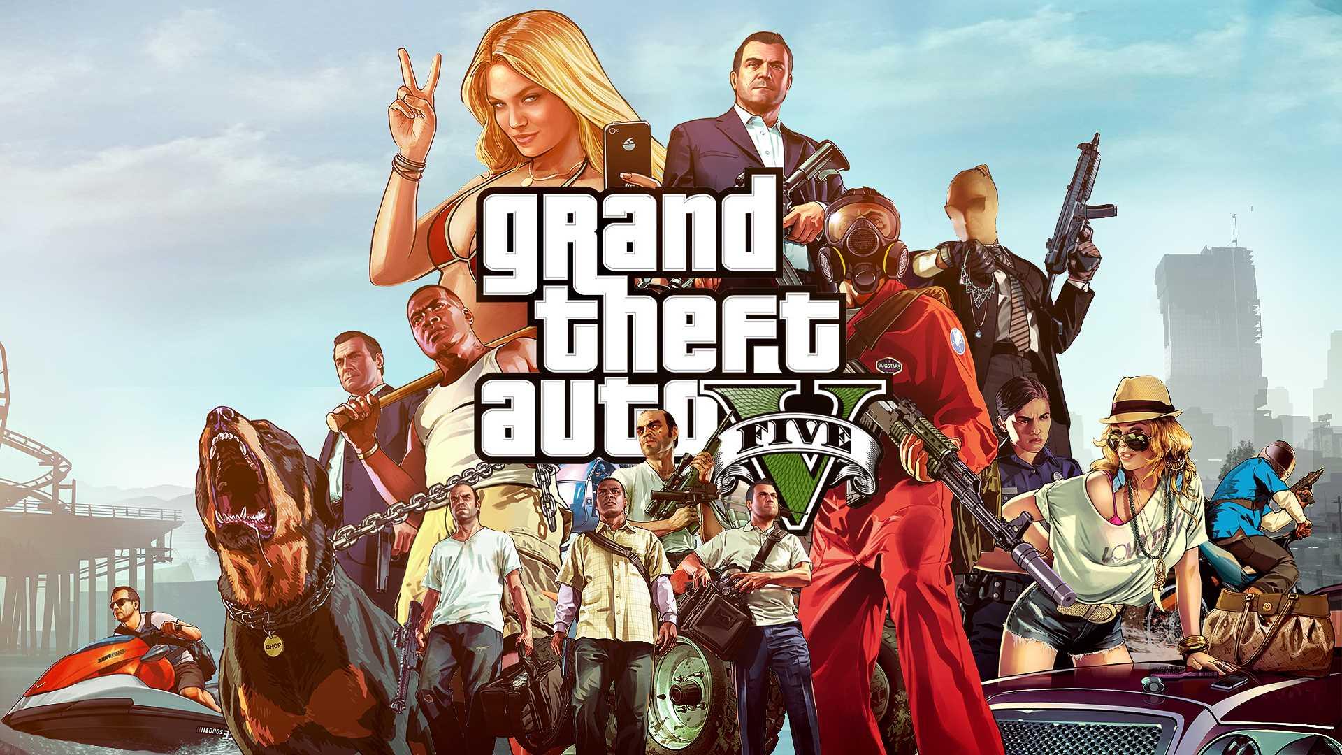 GTA 5 wallpaper