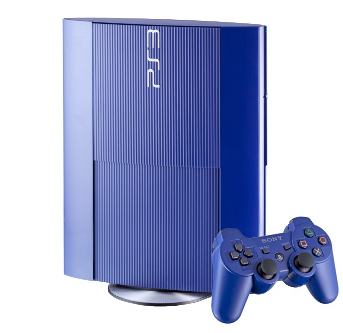 ps 4 blue console