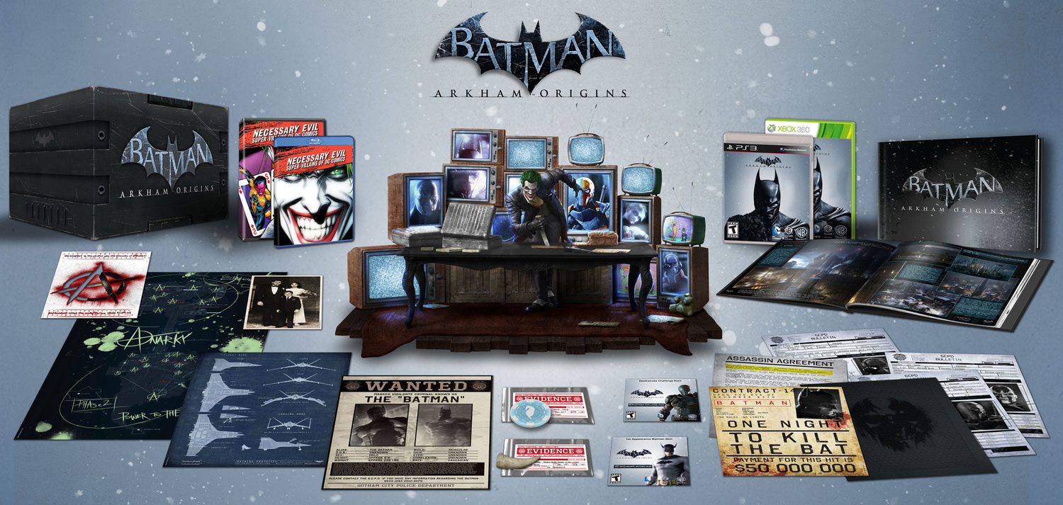 ARKHAM ORIGINS Collector's Edition Revealed