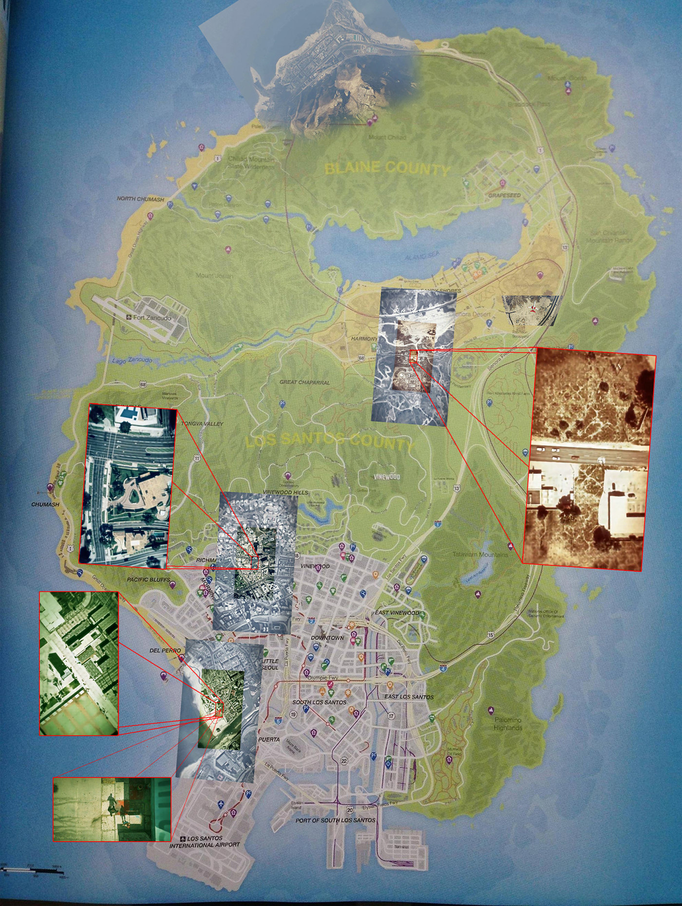 gta 5 world map
