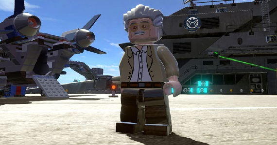 New Lego Marvel Super Heroes Trailer Reveals Playable Stan Lee