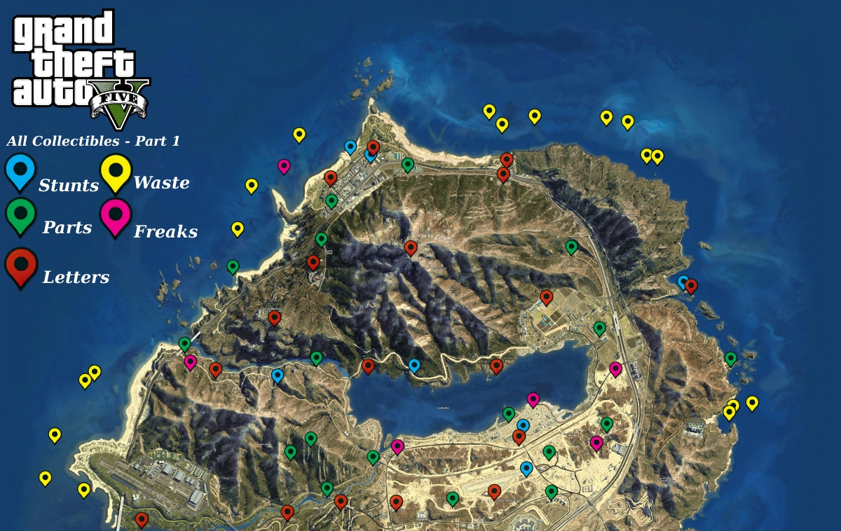 Gta v properties locations map and list gamingreality