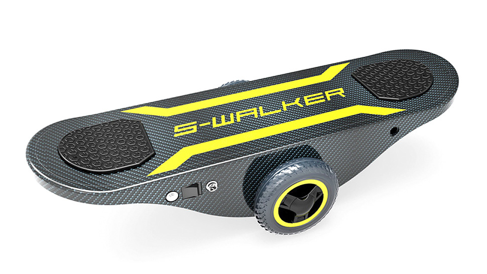 Self-Powered Self-Balancing Skateboard, for Lazy Ass Tony Hawks