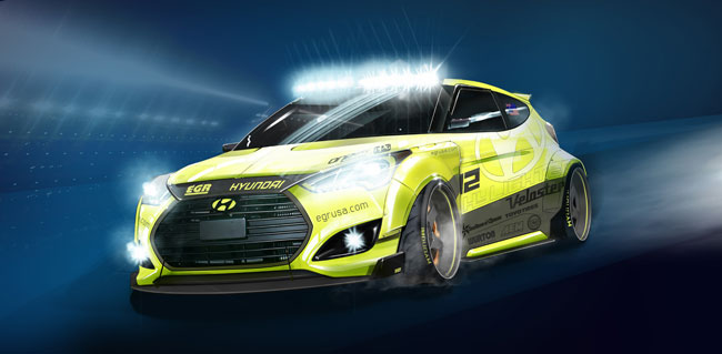 Hyundai SEMA Concept Car Is Called Yellowcake