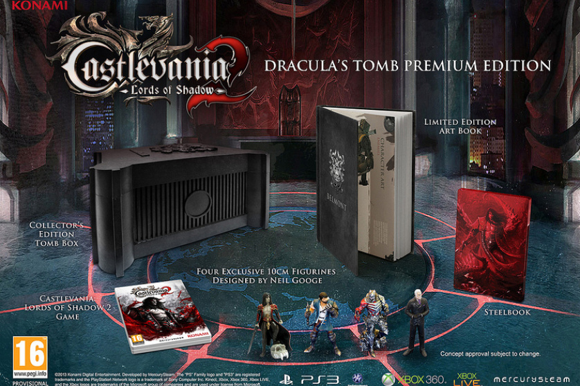 Castlevania: Lords of Shadow 2 Special Editions Revealed