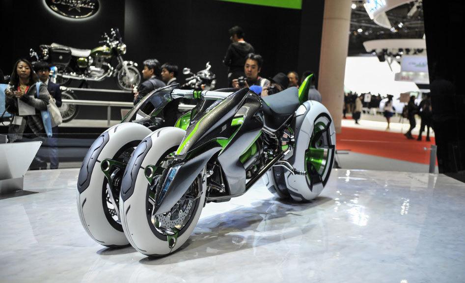 Kawasaki's Radical Cyberpunk Motorcycle