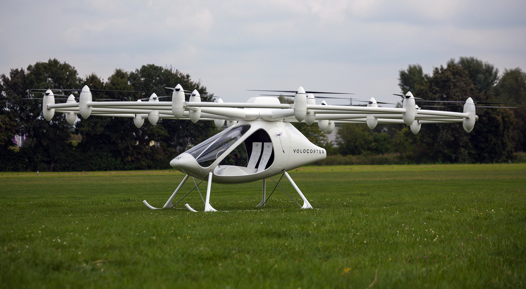 18-rotor electric Volocopter VC200