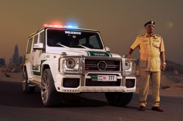 Dubai Police Got Mercedes-Benz G63 AMG