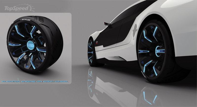 Audi A9 Concept Car