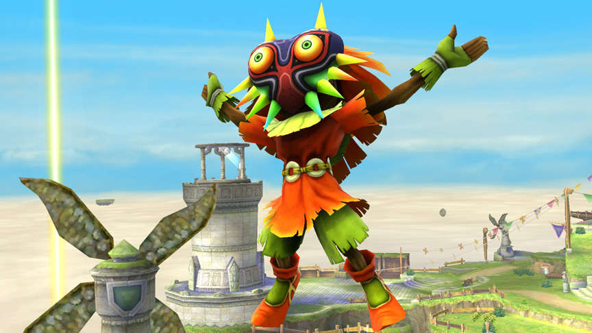 Legend of Zelda Skull Kid trophy