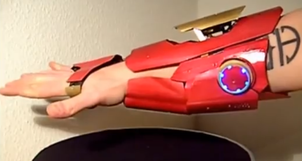 Home Made Iron Man's Laser Glove
