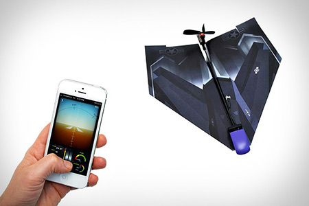 PowerUp 3.0 - The World's First Smartphone-Controlled Paper Airplane