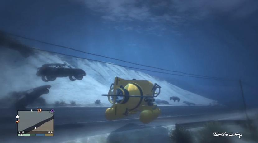GTA 5 underwater Mod