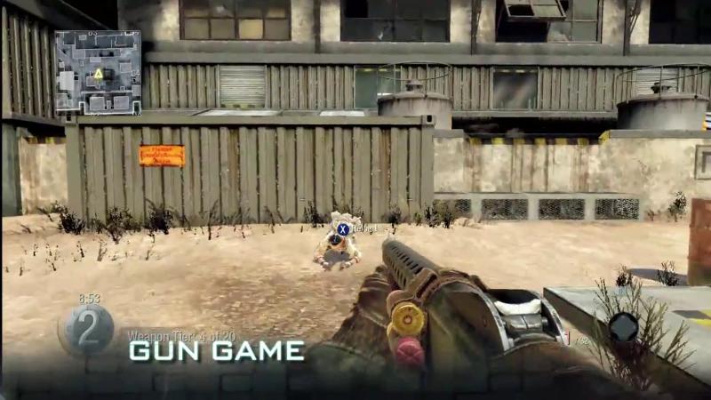 ghosts gun game