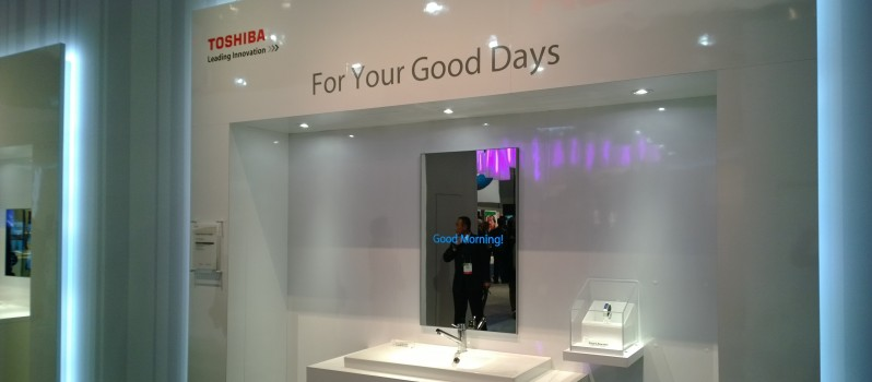 Toshiba Smart Mirror
