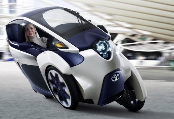 Toyota's i-Road