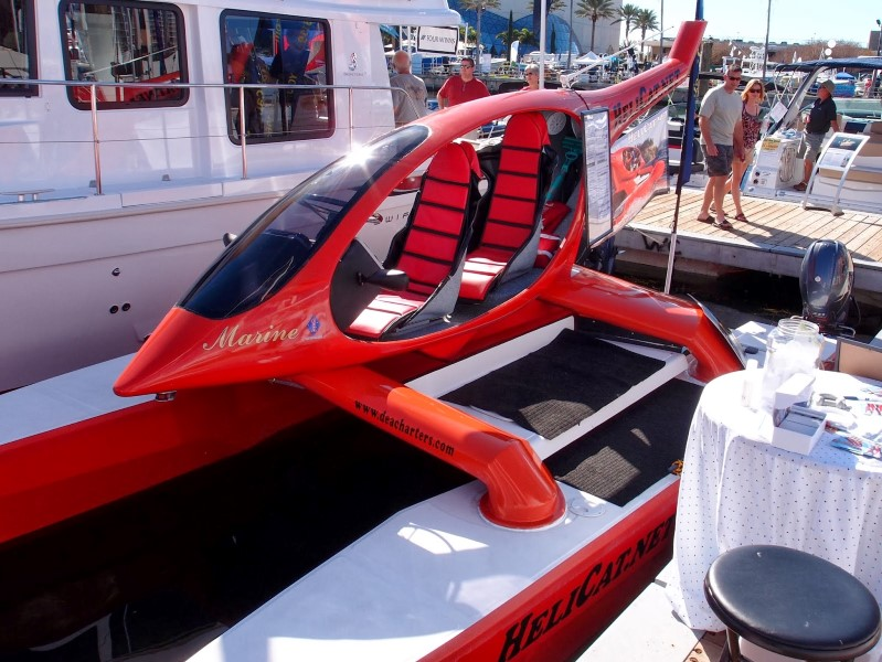 Helicat, Seems like a Helicopter but it's a Boat