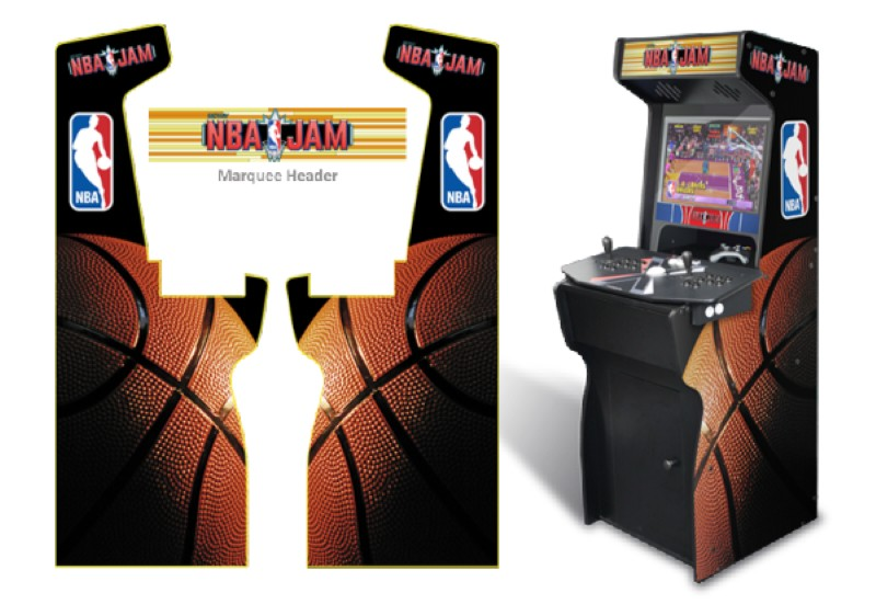 Insane NBA Jam Arcade Machine