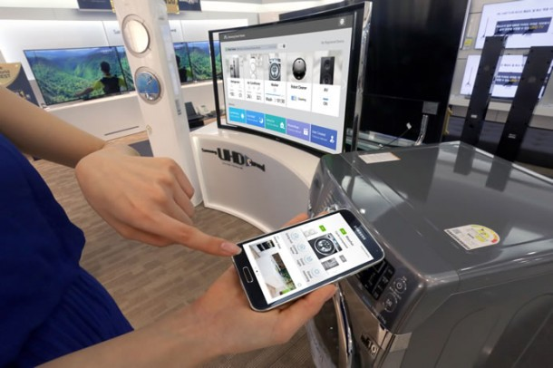 Samsung's Smart App Let's You Control Home Appliances By SmartPhone