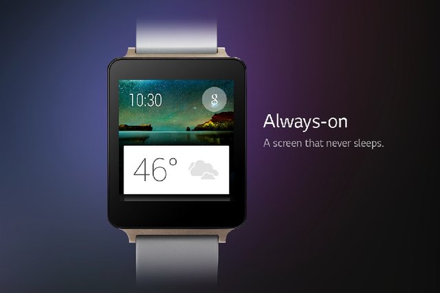 LG's always-on G Watch