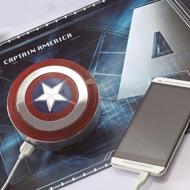 Captain America 2 Mini Bluetooth Speaker