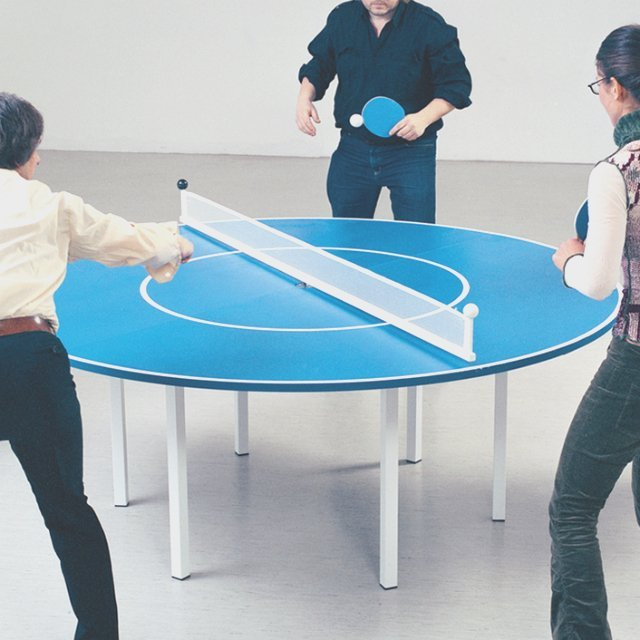 Ping Meets Pong Table Design