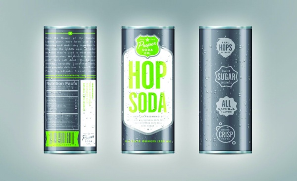 Hop Soda: The Taste of Beer, No Alcohol