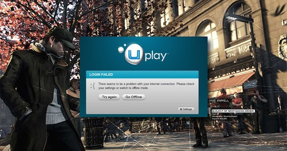 UPlay Problems Keeping PC Owners From Playing Watch Dogs