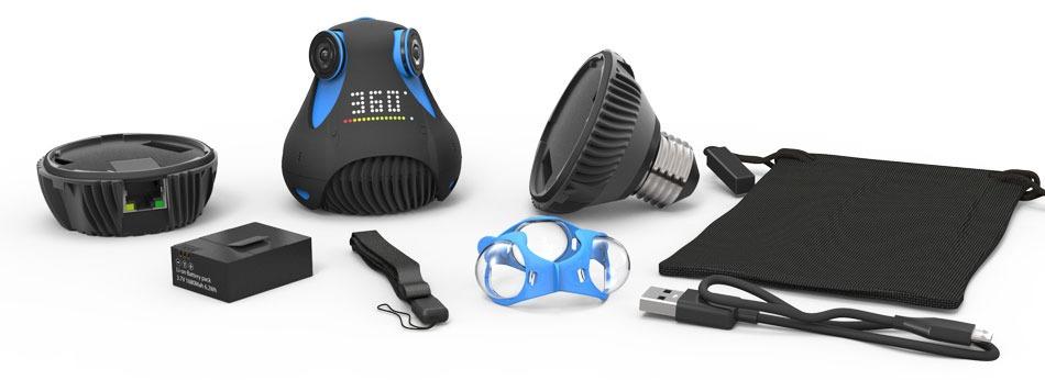 Waterproof 360-Degree HD Camera (3)