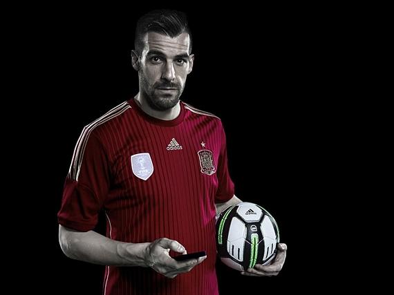 The Adidas miCoach Smart Ball