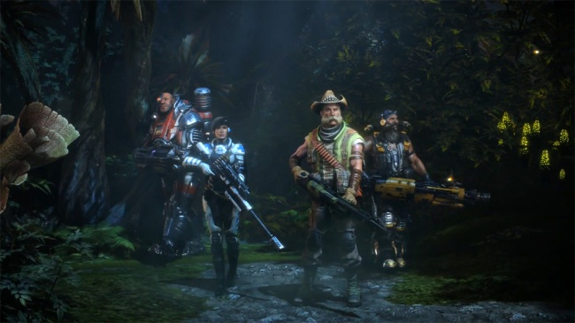 Evolve 'Hunters' Gameplay Video