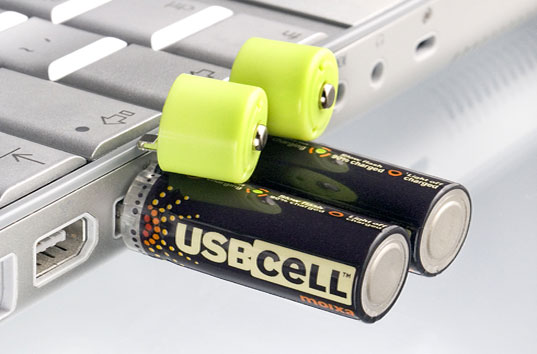 These AA Batteries Can Be Recharged Using Any USB Port