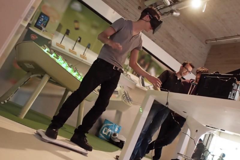 virtual hoverboard