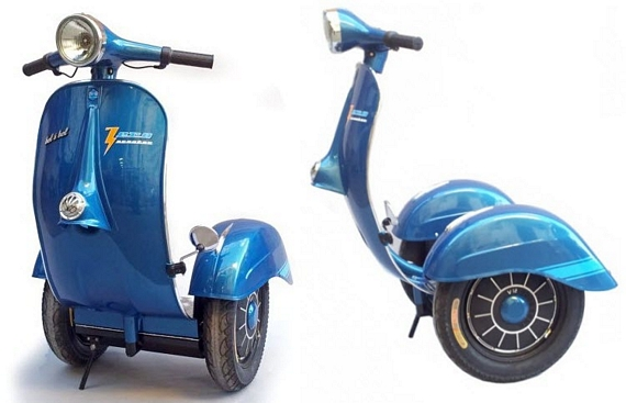 Electric Vespa Segway