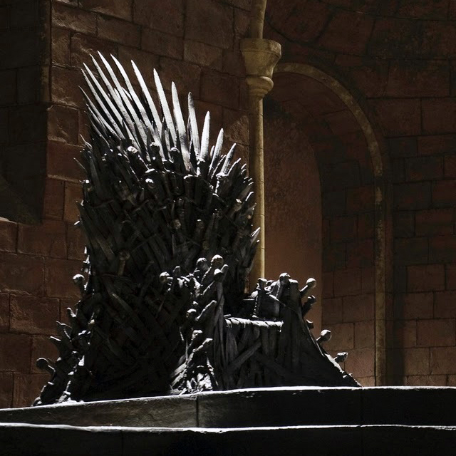 Brilliant Game Of Thrones Life Size Replica Iron Throne