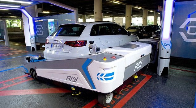 This Robot Will Parallel Park Your Car