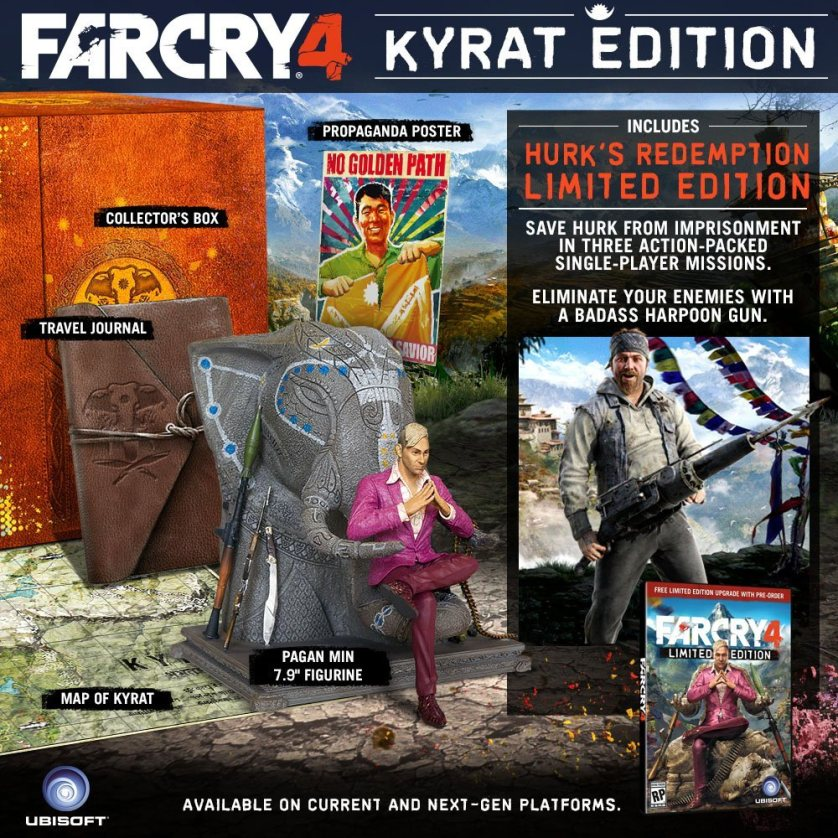 Far Cry 4 Kyrat Edition Revealed