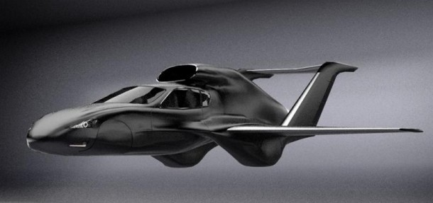 GF7 Flying Car Concept