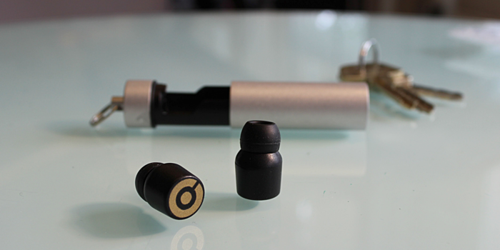 World's Smallest Wireless Ear Phones