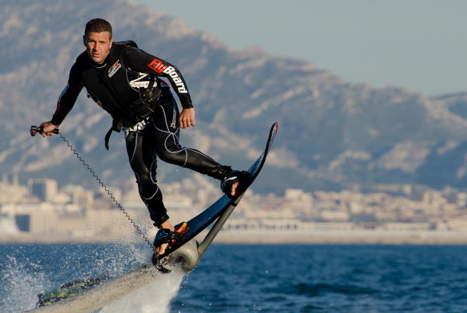 ZR Hoverboard: The Flying Skateboard