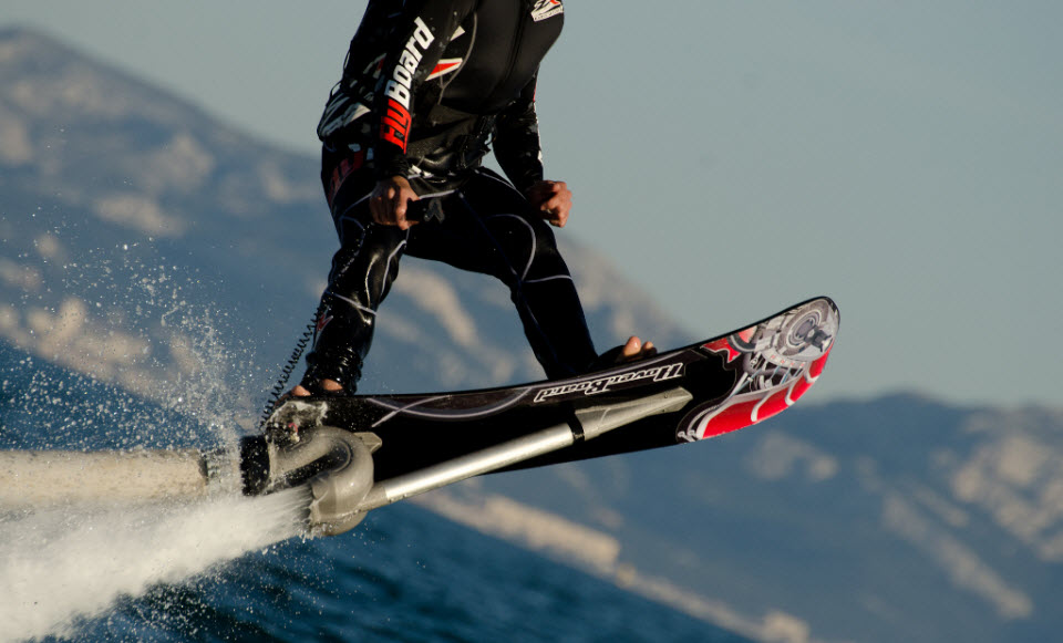 ZR Hoverboard: The Flying Skateboard