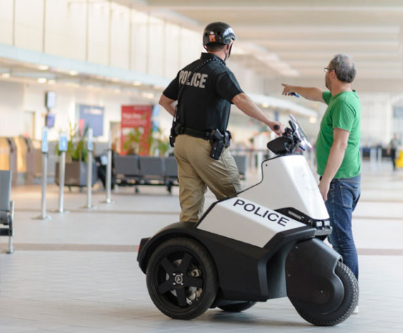 Three Wheeled Segway