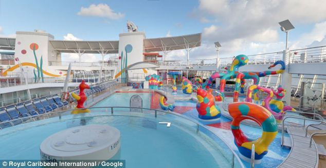 Board The World's Largest Cruise Ship With Google Street View (5)