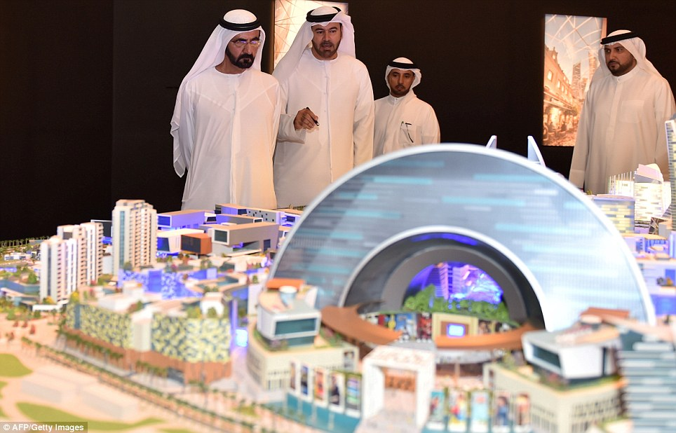 World's First Temperature Controlled City – Mall Of The World