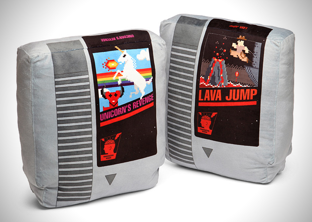Video Game Cartridge Pillows