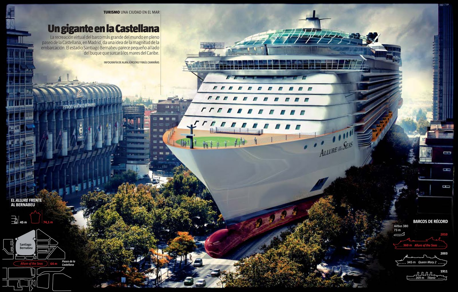 Board The World's Largest Cruise Ship With Google Street View