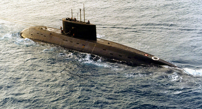 New Russian Atomic Submarine
