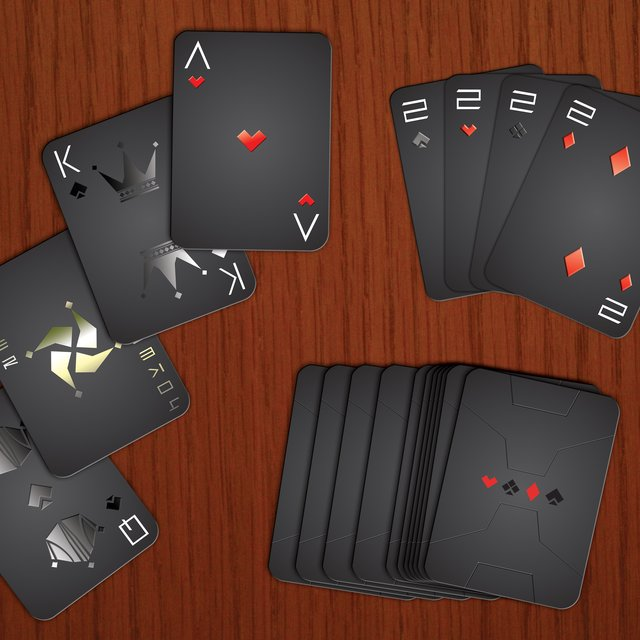 Stealth Playing Cards by AK Graphx
