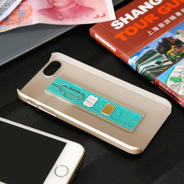 SIMPLcase World Travelers iPhone Case