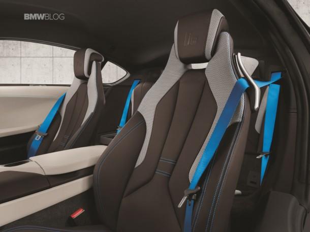 The BMW i8 Hybrid Sports Car